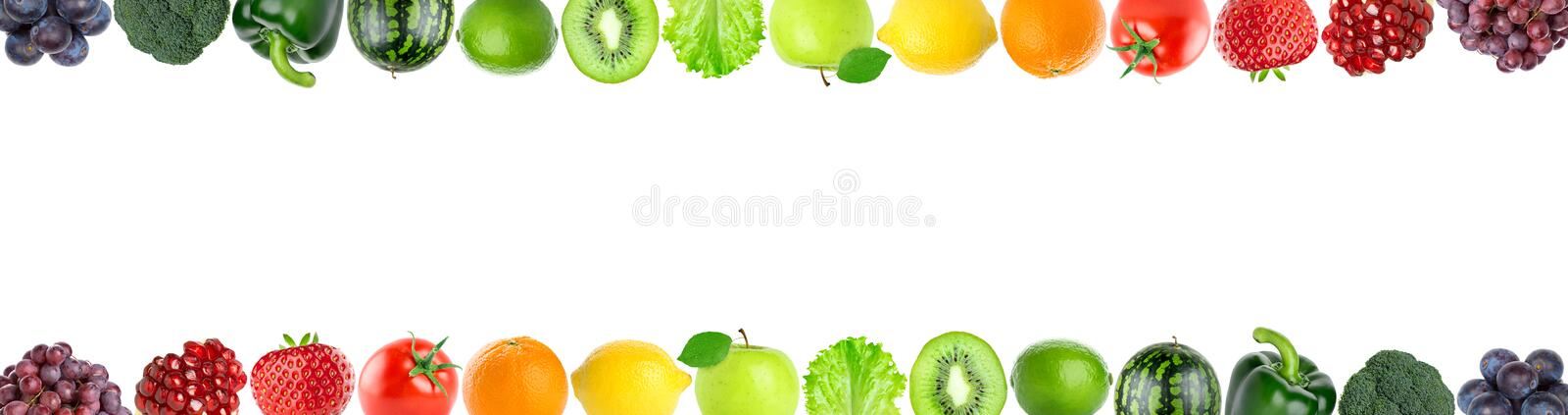 Download Fruits and vegetables stock image. Image of orange, white - 78200025