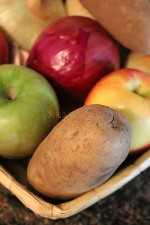 Fruits, Veggies et amidon photos libres de droits