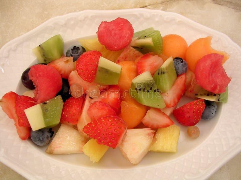 Fruitsalade stock afbeeldingen