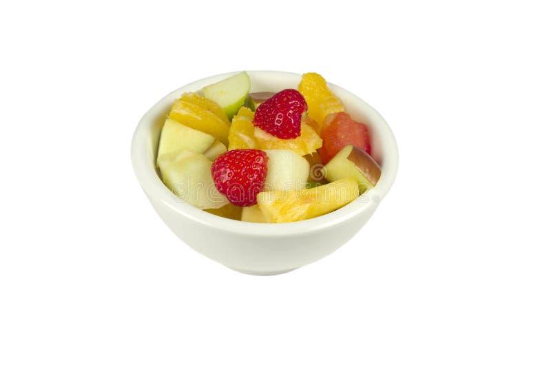 Fruitsalade. royalty-vrije stock foto's
