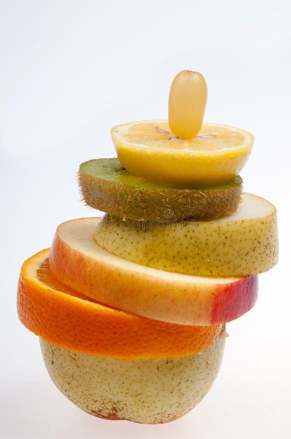 Fruittoren stock foto
