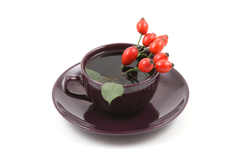 fruity τσάι φλυτζανιών στοκ φωτογραφίες με δικαίωμα ελεύθερης χρήσης