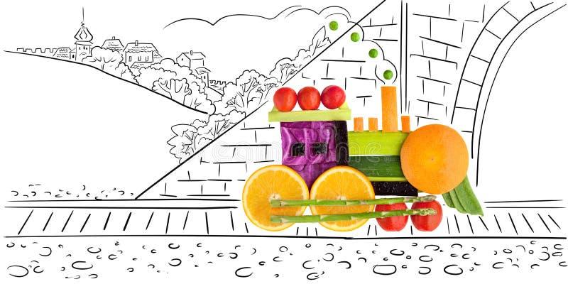 Fruity астрагал. иллюстрация штока