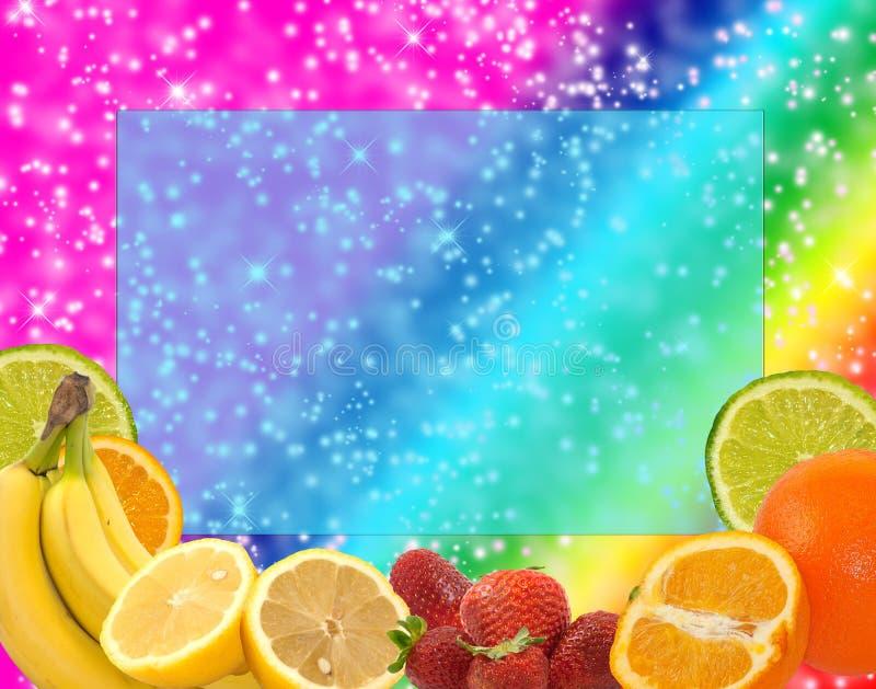 Fruity волшебная предпосылка бесплатная иллюстрация
