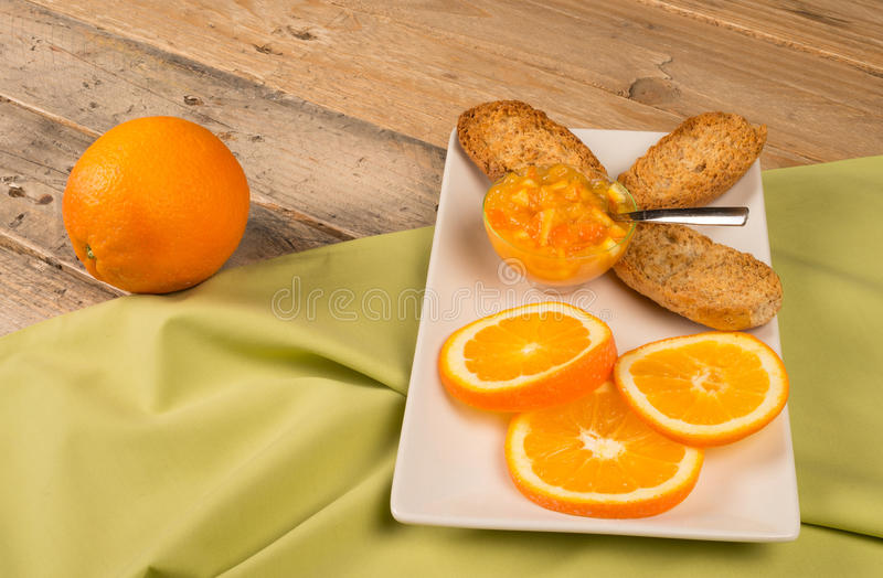 Fruity Breakfast Royalty Free Stock Images