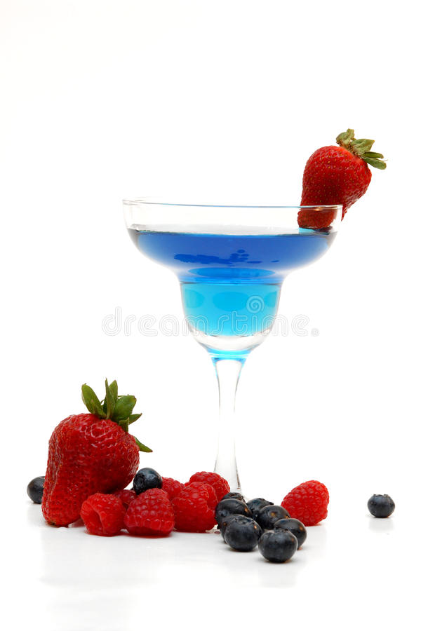 Fruity drink royalty free stock photos
