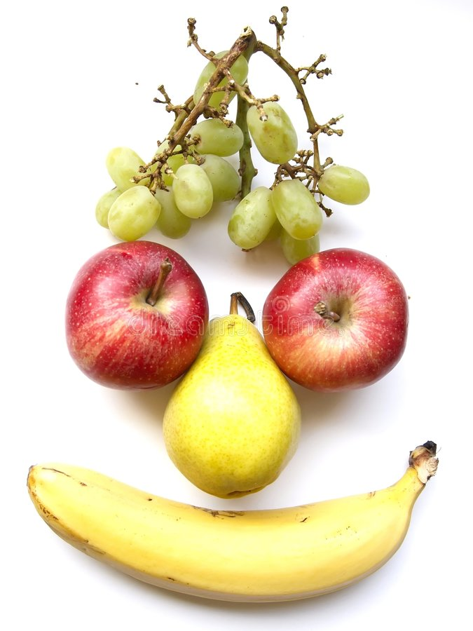 Download Fruity face stock image. Image of nutrition, banana, dessert - 9248095