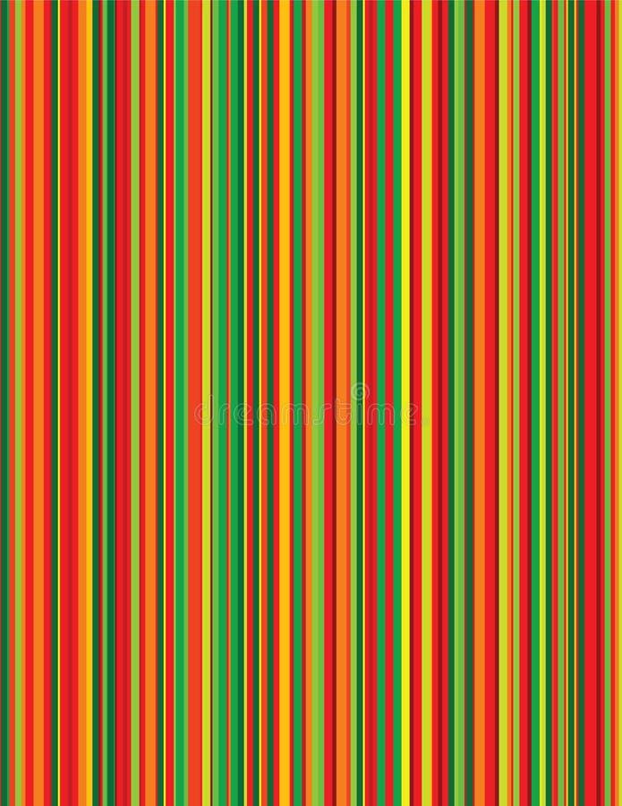 fruity pinstripes 向量例证