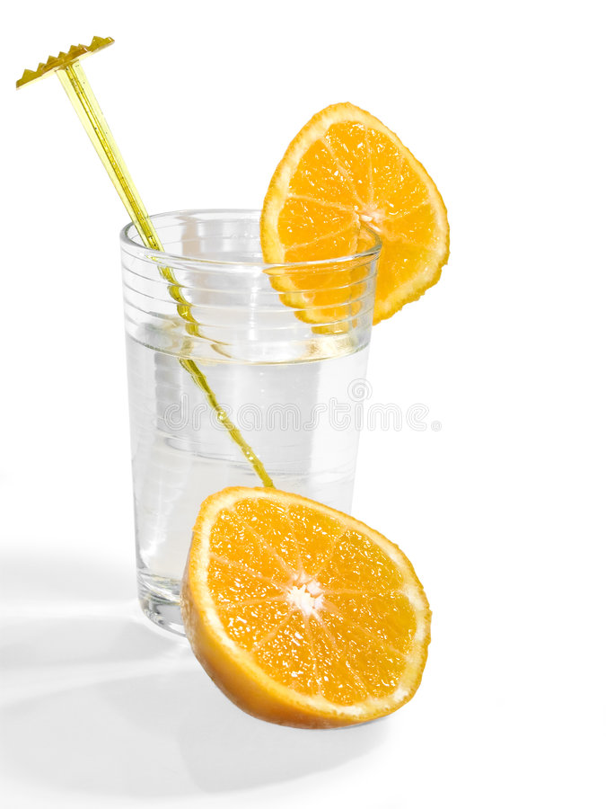 Fruity water royalty free stock photos