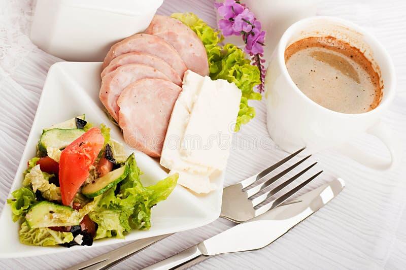 Frukost från korven, Provencal stil fotografering för bildbyråer