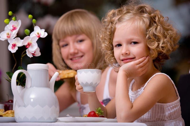 Frukost hemma royaltyfri bild