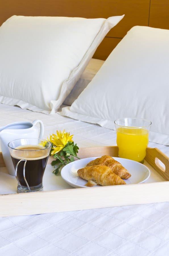 Frukost i underlag royaltyfria foton