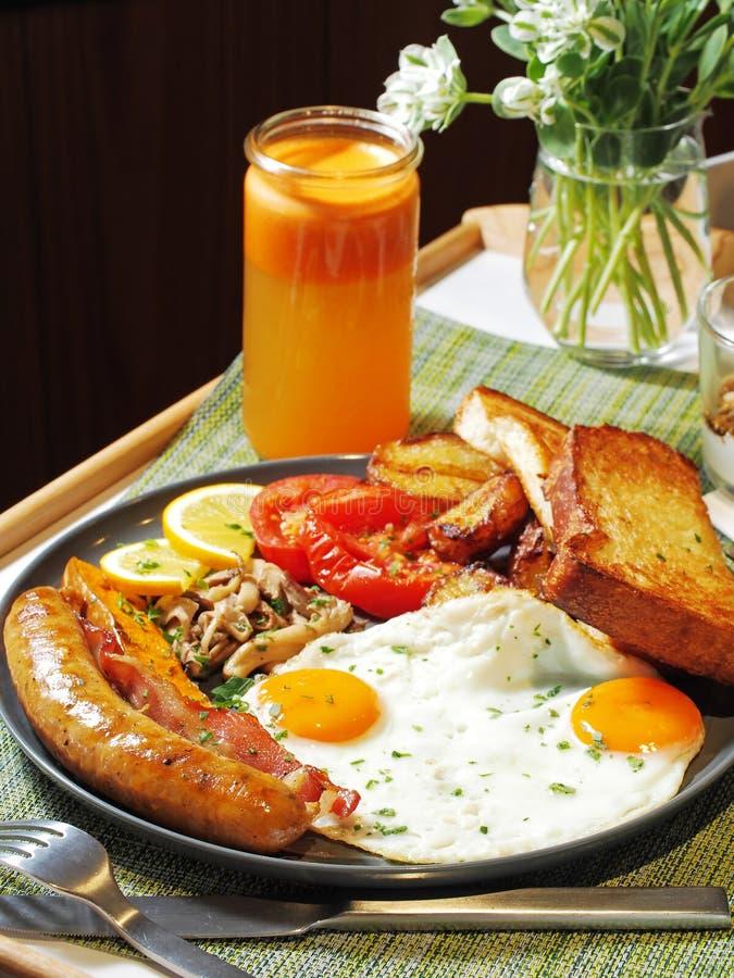 frukostera engelska royaltyfria foton