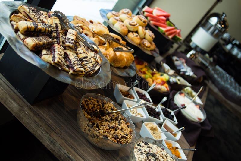 Frukostfrunch royaltyfria bilder
