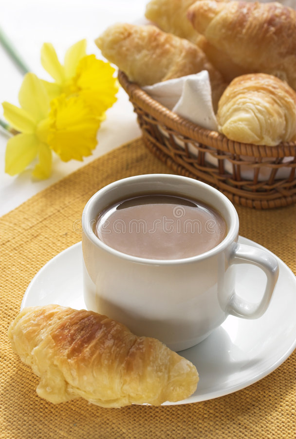 frukostkaffe arkivfoton