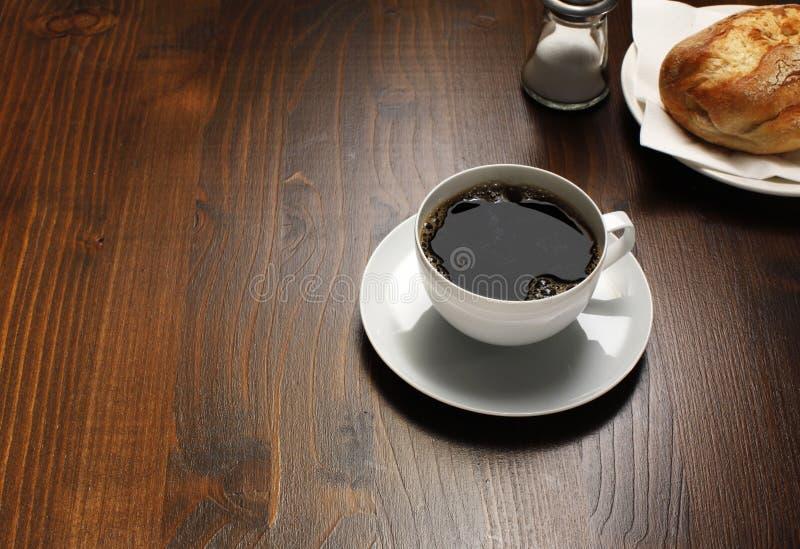 frukostkaffe royaltyfri foto