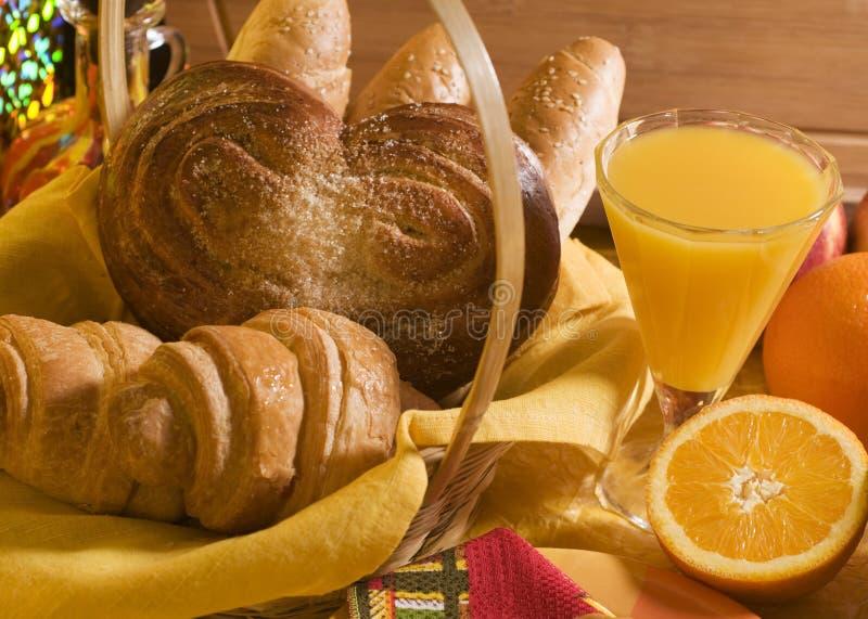 frukostmat arkivbild