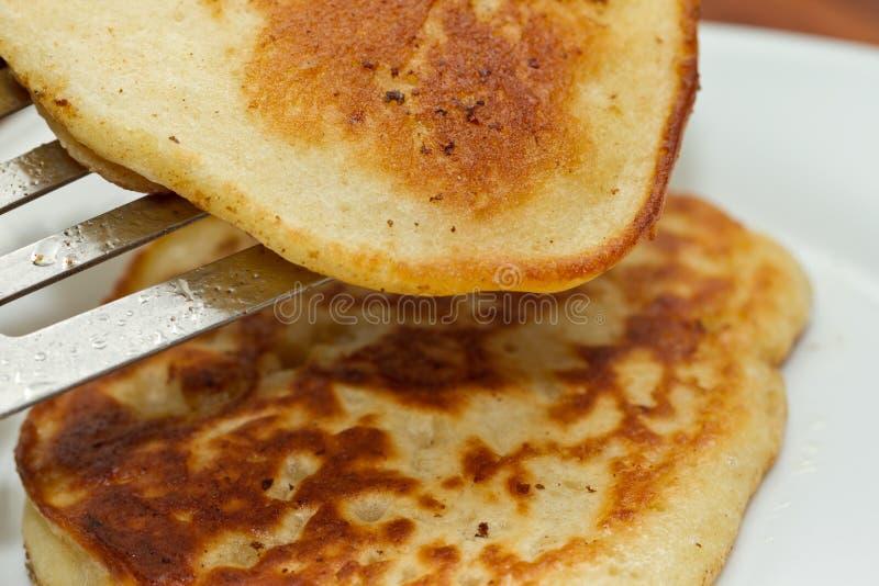 frukostpannkakor arkivfoto