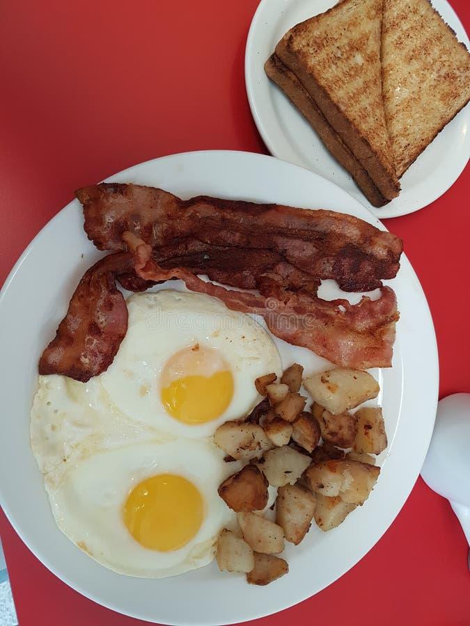 Frukostsakkunnig royaltyfri fotografi