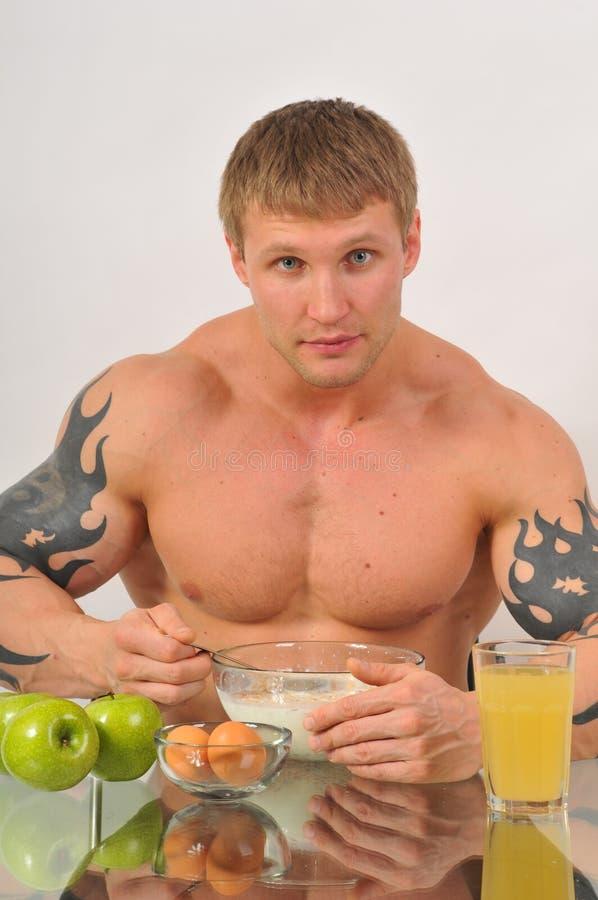 frukostsport royaltyfri bild