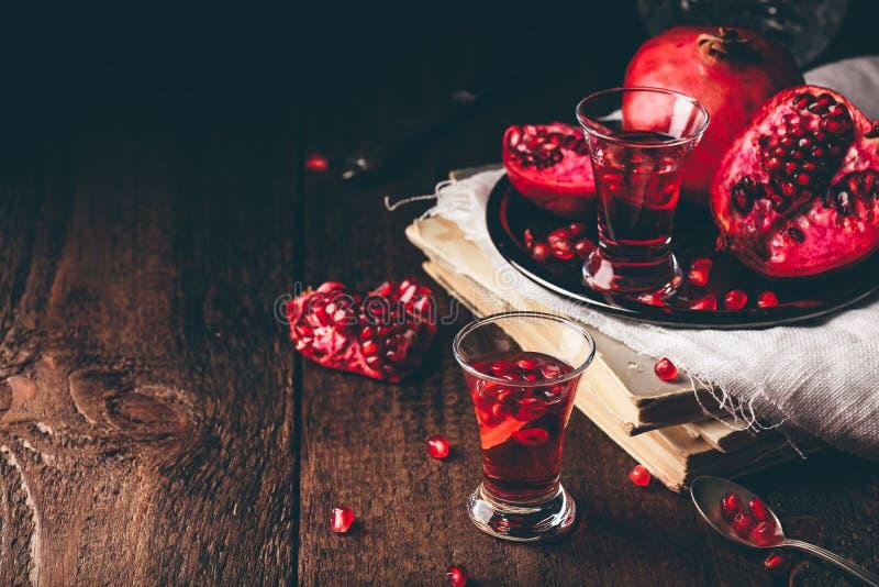 Frukt cocktail fotografering för bildbyråer