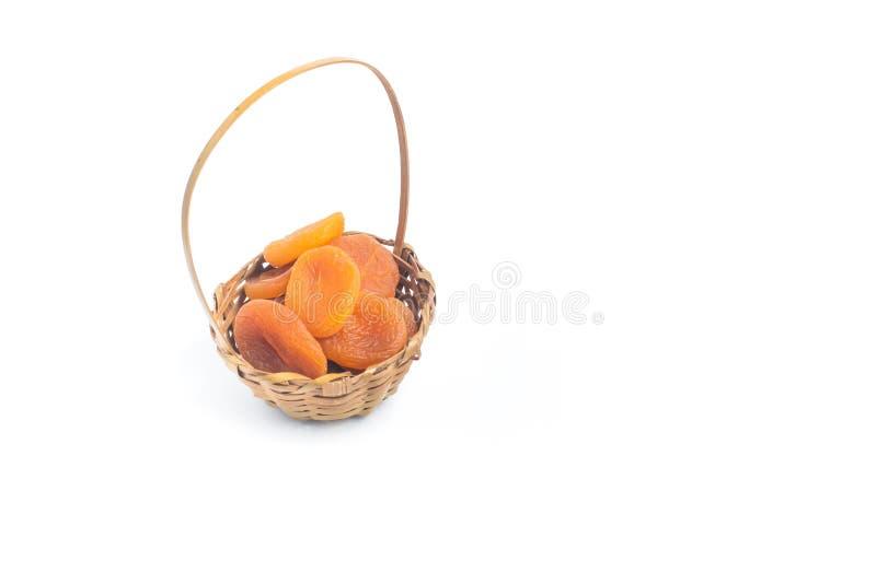Frukt för torkade aprikors royaltyfri foto