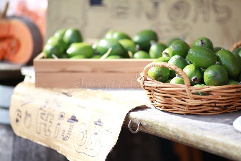 Frukt i lokal marknad fotografering för bildbyråer
