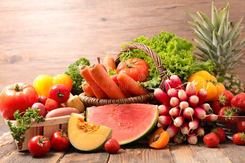 Frukt och grönsak royaltyfri fotografi
