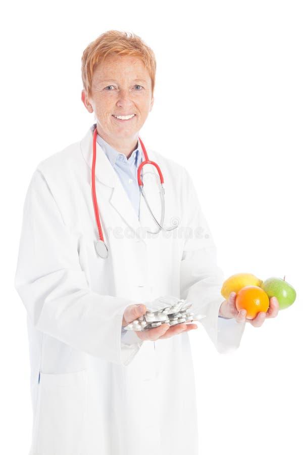 Frukter eller preventivpillerar fotografering för bildbyråer