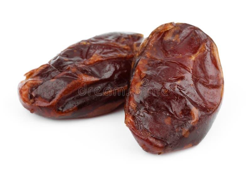 Frukter för torkat datum royaltyfria foton
