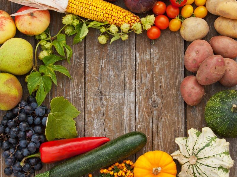 Frukter och grönsaker arkivbild