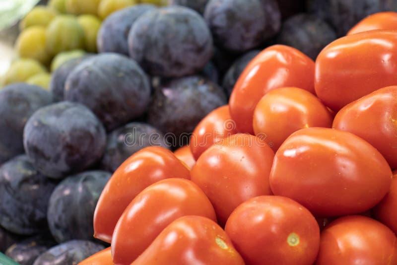 Frukter på den fulla skärmen arkivbilder
