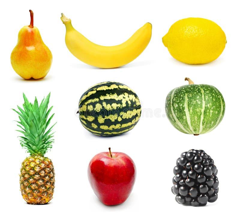 Frukter ställde in   royaltyfria foton
