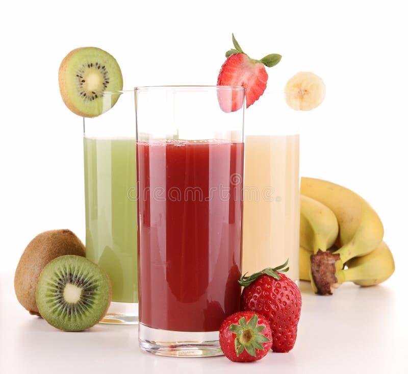 fruktfruktsaft royaltyfria bilder