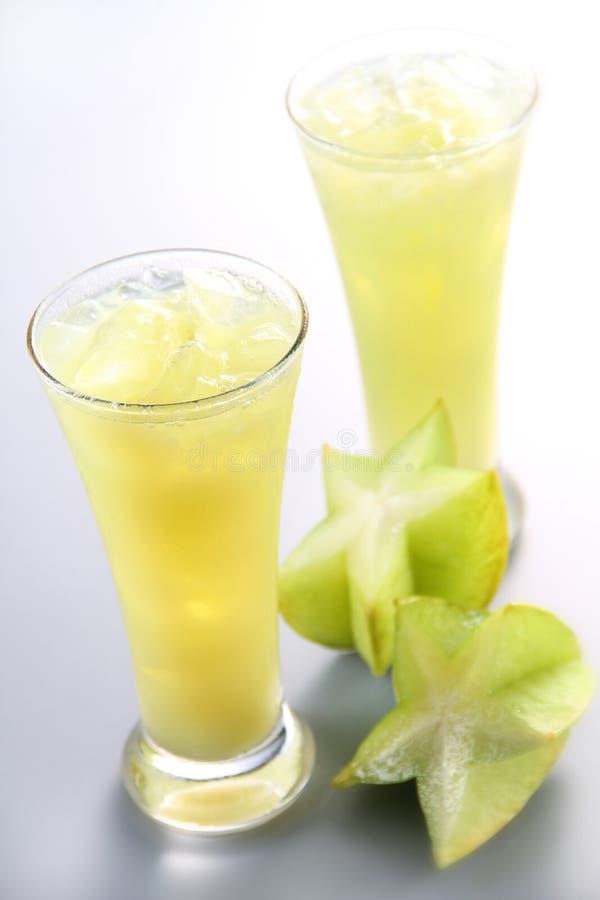 fruktfruktsaftstjärna royaltyfria foton