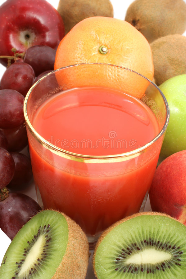 fruktjuicer royaltyfri fotografi
