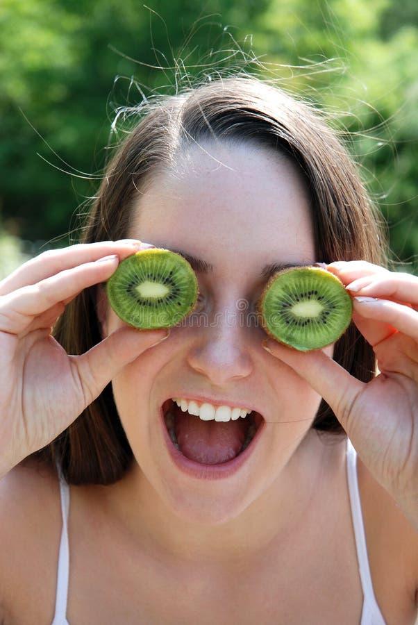 fruktkiwi royaltyfri foto