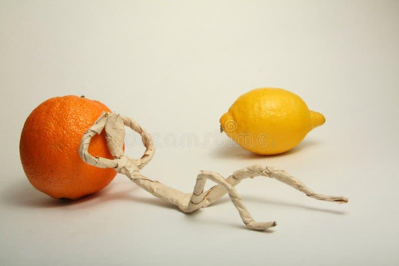 fruktmanpapper fotografering för bildbyråer