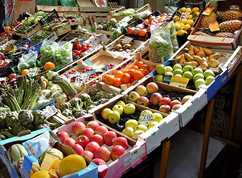 fruktmarknad royaltyfri fotografi