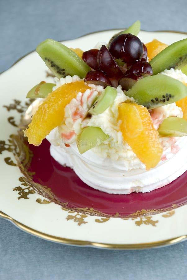 fruktpavlova arkivfoto