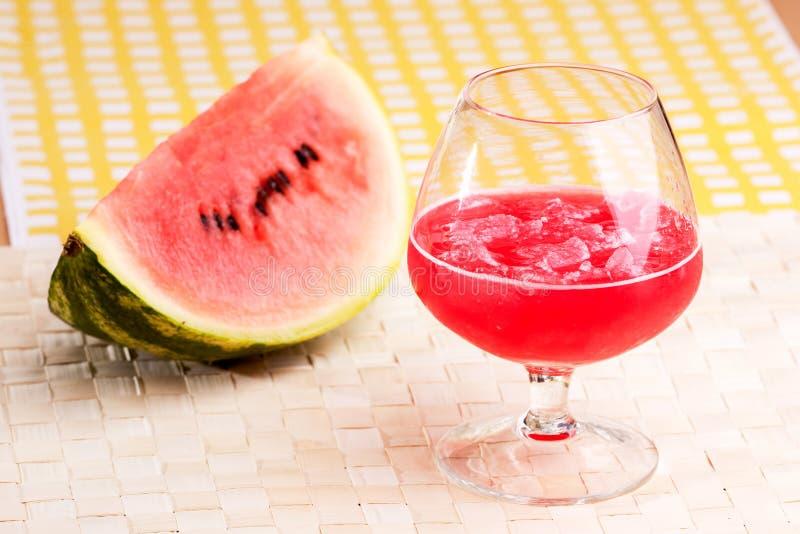 fruktsaftvattenmelon fotografering för bildbyråer