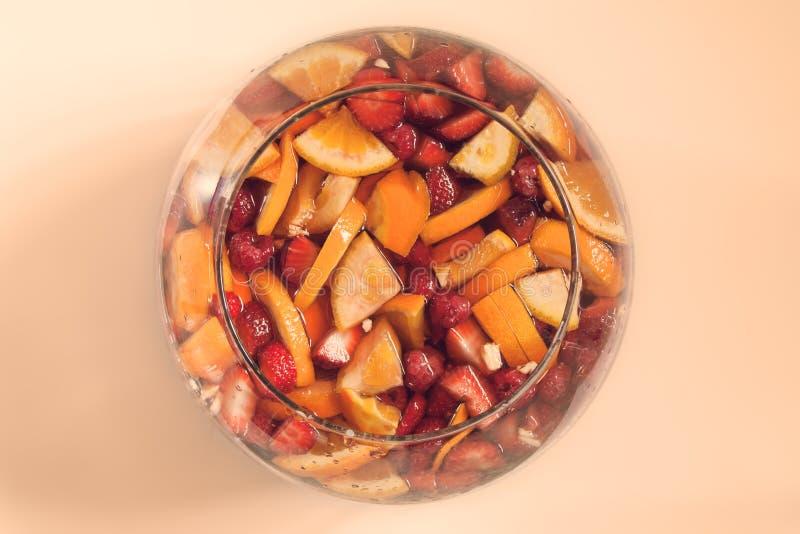 Fruktstansmaskin arkivfoto