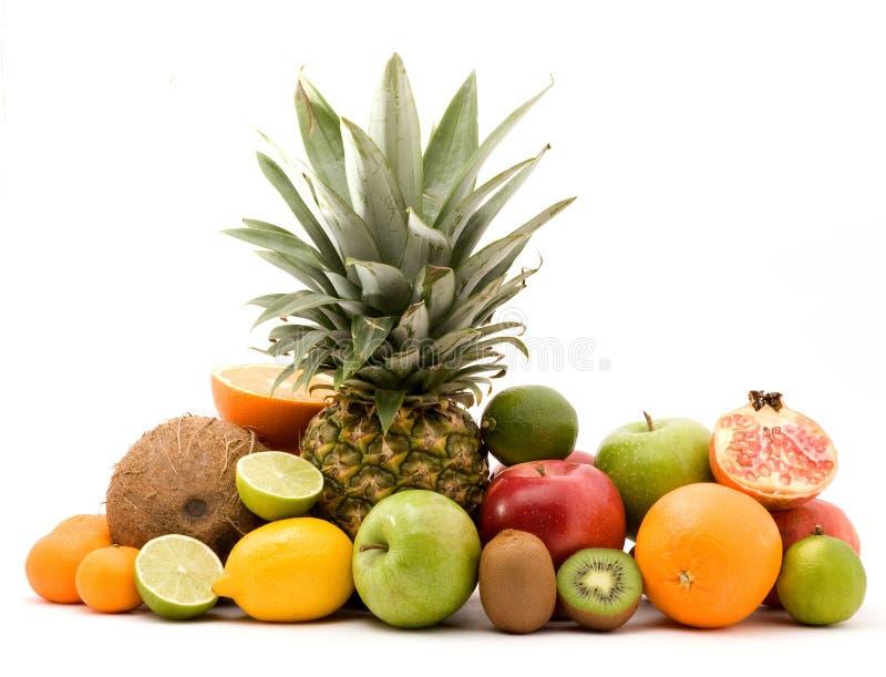 fruktstapel royaltyfri bild