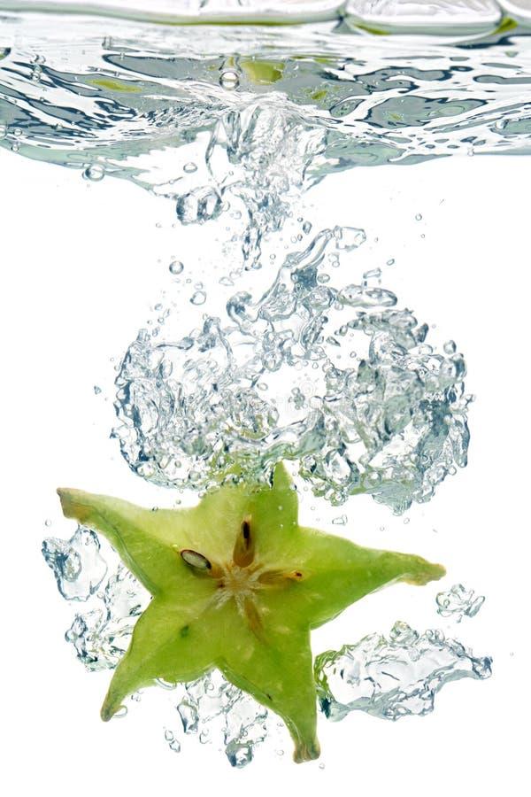 fruktstjärnavatten arkivfoto