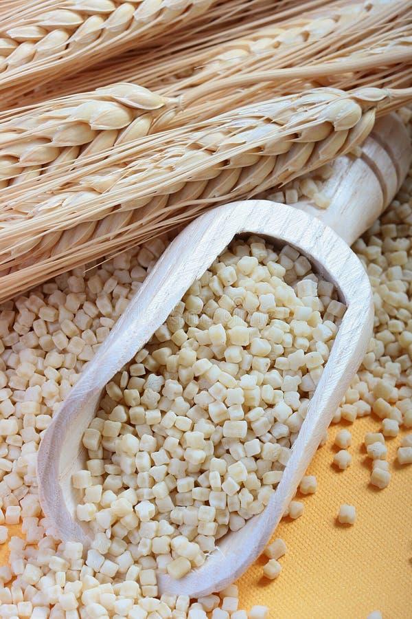 Frumenty Pasta. Component of a national Greek cuisine sour Frumenty Pasta stock photos
