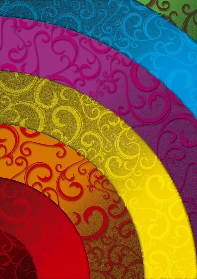 FRUSTA DEL RAINBOW immagini stock libere da diritti