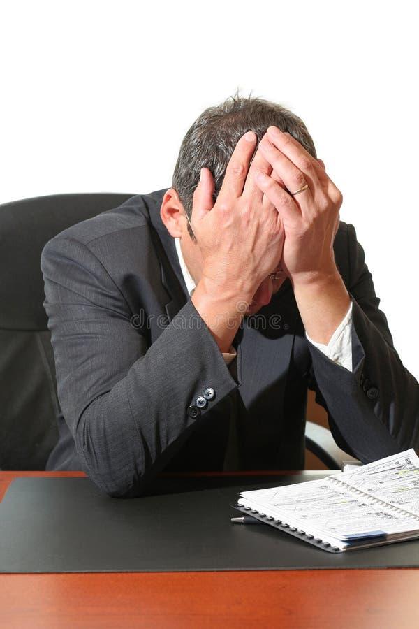 Frustração fotografia de stock