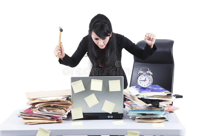 Download Frustrated Businesswoman Stock Photography - Image: 22738222