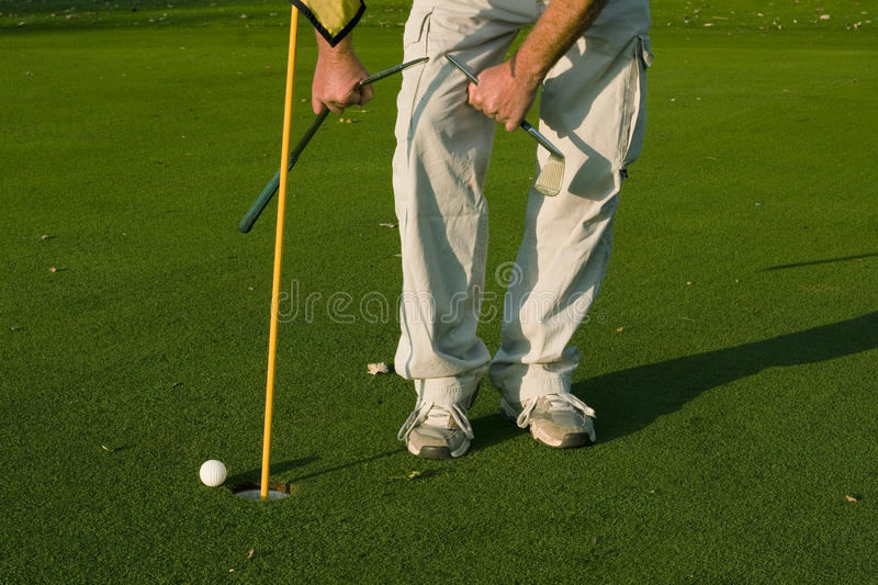 Download Frustrated golfer stock photo. Image of club, hole, break - 21502770