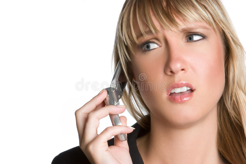 Download Frustrated Phone Woman stock image. Image of background - 11695139
